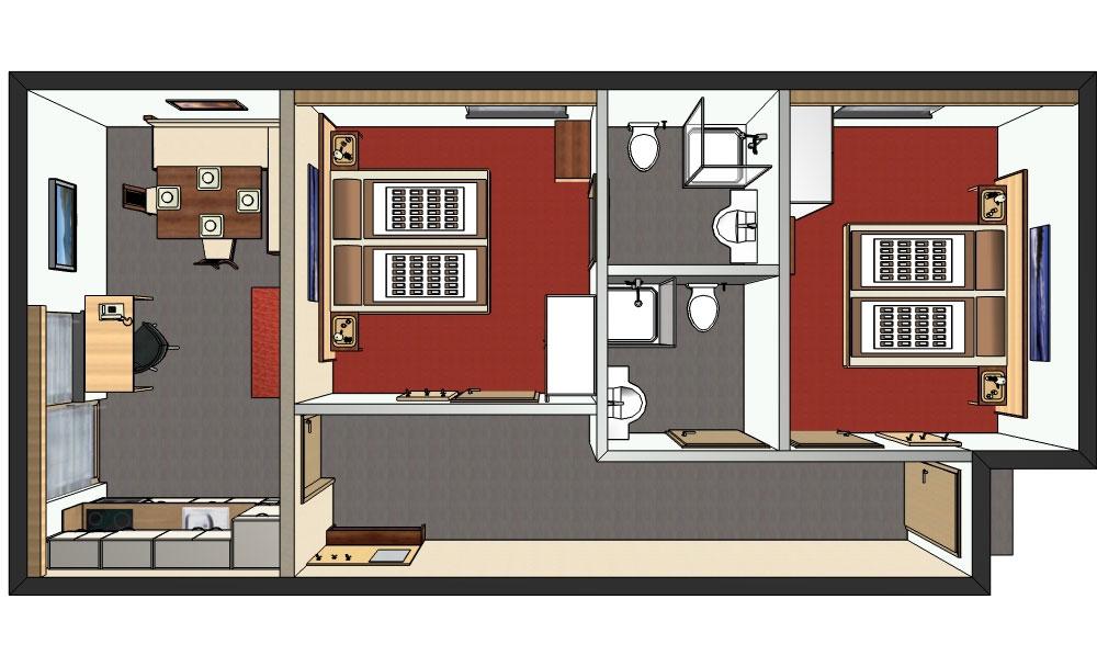 ferienwohnung ladis f r 2 bis 4 personen im haus fonnes in. Black Bedroom Furniture Sets. Home Design Ideas